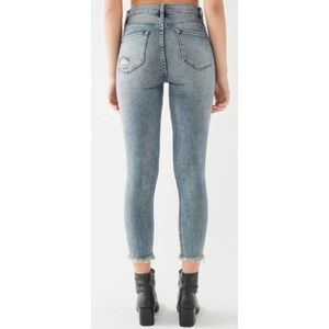 Urban Outfitters Jeans - BDG Twig Crop Distressed Patch High-Rise Jean EUC